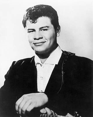 Ritchie Photograph - Ritchie Valens (1941-1959) by Granger