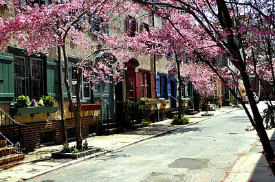Rittenhouse Square Neighborhood Print by Andrew Dinh