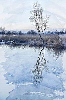 Beach Landscape Mixed Media - River Ant by Svetlana Sewell