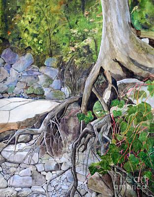 River Bank Original by Terri Robertson