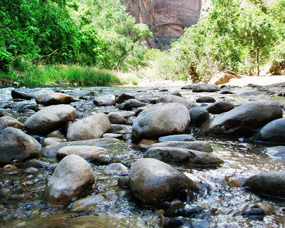 Photograph - River Rocks Of The Virgin River by Gravityx9 Designs