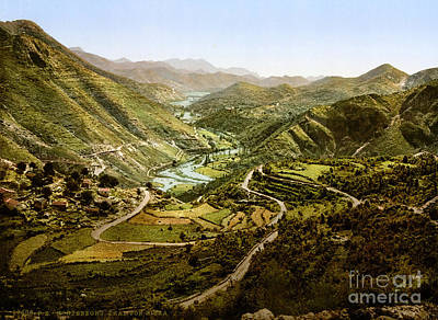 Montenegro Painting - River Valley Montenegro by Celestial Images