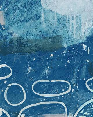 River Walk 3- Art By Linda Woods Print by Linda Woods
