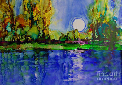 Painting - River Walk by Priti Lathia