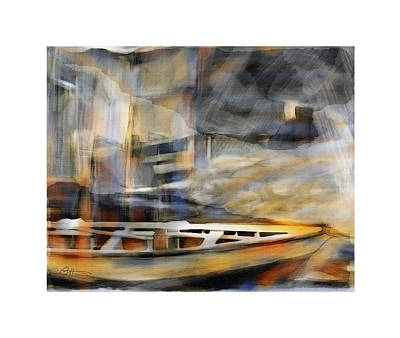 Water Vessels Painting - Riverboat by Bob Salo