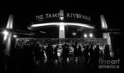 Riverwalk Photograph - Riverwalk by David Lee Thompson