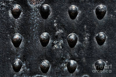 Rivets Photograph - Riveting by Olivier Le Queinec