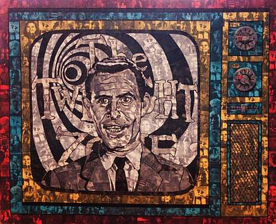 Peter Falk Painting - Rod Serling  by Brent Andrew Doty