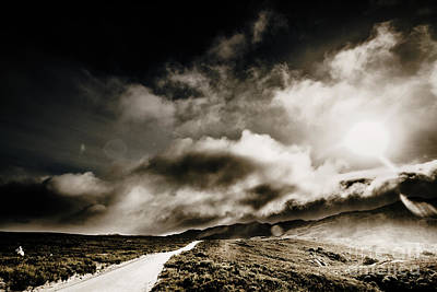 Road Storm Print by Jorgo Photography - Wall Art Gallery