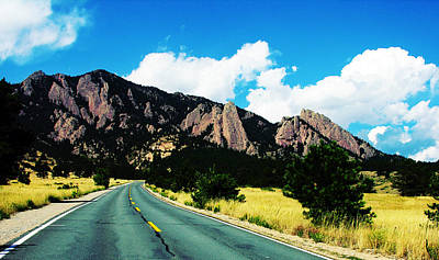 Road To Ncar Print by Marilyn Hunt