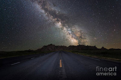 Road To The Heavens Print by Michael Ver Sprill