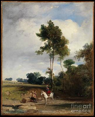 Arnold Painting - Roadside Halt by Celestial Images