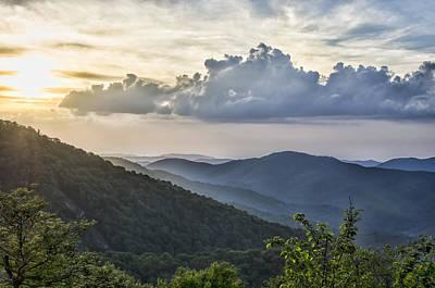 Carter Photograph - Roan Mountain Vista by Heather Applegate