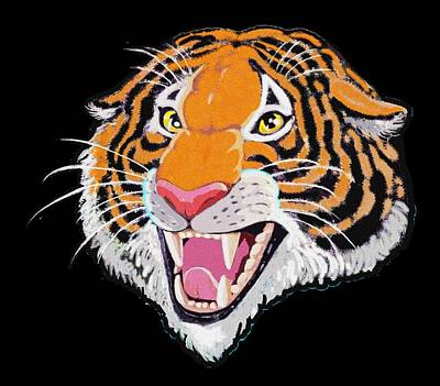 Detroit Tigers Digital Art - Roar by J L Meadows