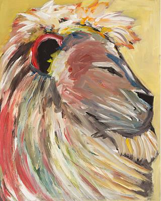 Painting - Roar by Chelle Fazal