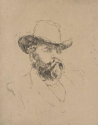 Tonalist Relief - Robert Barr by James Abbott McNeill Whistler