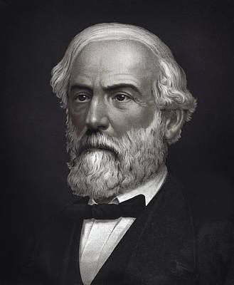 The General Lee Photograph - Robert E. Lee - Confederate Commander - 1870  by Daniel Hagerman