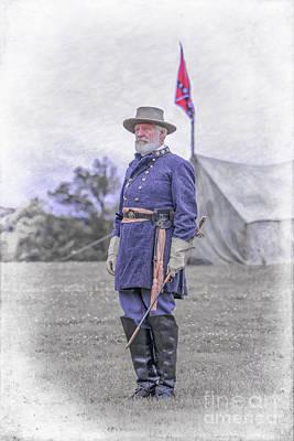 Robert E. Lee Print by Randy Steele