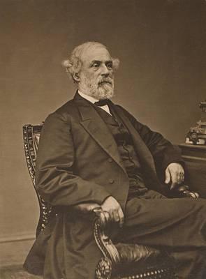 Csu Photograph - Robert Edward Lee 1807-1870 by Everett