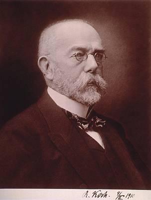 Anthrax Photograph - Robert Koch 1843-1910 German Physician by Everett
