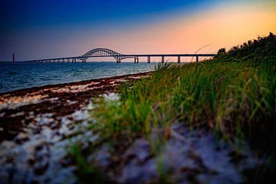 National Seashore Photograph - Robert Moses Causeway by Rick Berk