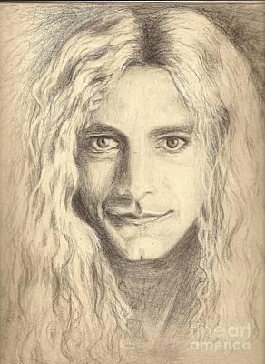 Robert Plant Drawing - Robert Plant by Carleigh Duncan