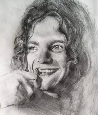 Robert Plant Mixed Media - Robert Plant  by John Balestrino