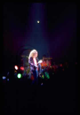 Robert Plant Led Zeppelin Print by Kevin Cable