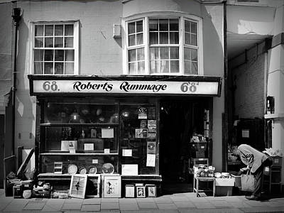 Hastings Photograph - Roberts Rummage by Mark Rogan