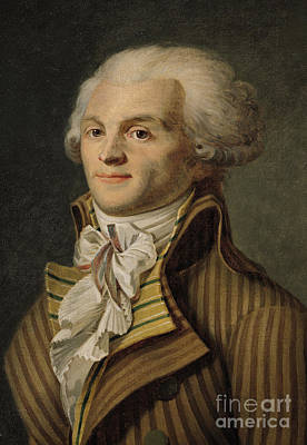 Robespierre Print by French School