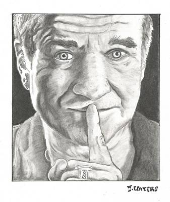 Voice Actor Drawing - Robin Williams by Jeremy Waters