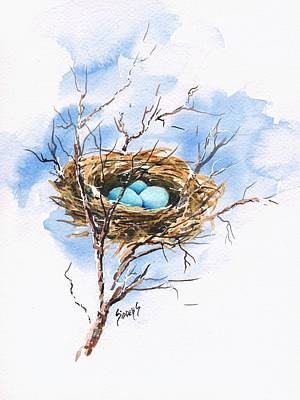 Robin's Nest Original by Sam Sidders