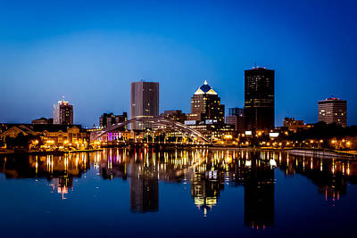 Rochester Reflections Print by Sara Frank