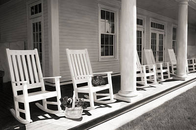 Rocking Chairs Photograph - Rock A Bye by Robin-lee Vieira