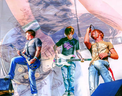 Music Digital Art - Rock And Roll Band Version 1 by Randy Steele