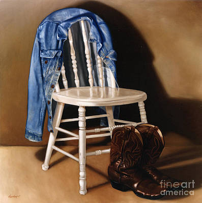 Levis Painting - Rock And Roll by Larry Preston
