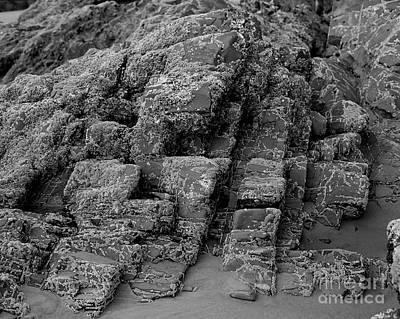 Rock Detail Oregon Coast Original by Arni Katz