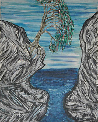 Painting - Rock Of Age by Suzanne Surber