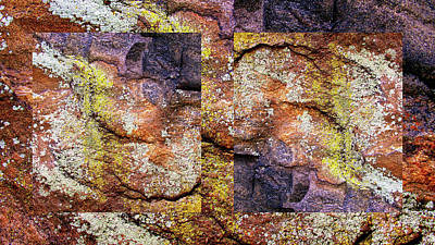 Abstract Composite Digital Art - Rock Of Ages by Jessica Jenney