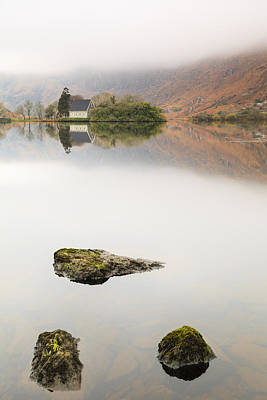 Gougane Barra Photograph - Rock Of Barra by Graham Daly