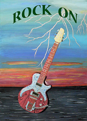 Electric Painting - Rock On by Eric Kempson