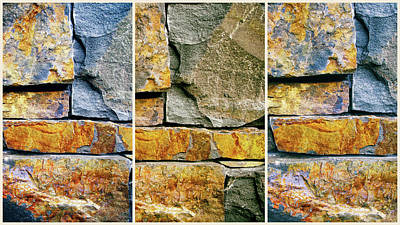 Abstract Composite Digital Art - Rock Steady  by Jessica Jenney
