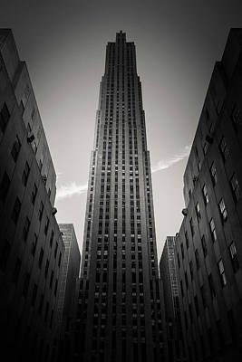 Commercial Photograph - Rockefeller Center by Dave Bowman