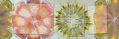 Different Ideas Painting - Rocketries Scheme Flower  Id 16165-124424-46251 by S Lurk
