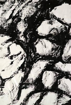 Rocks Print by Rob Woods