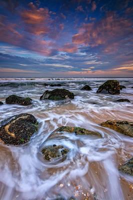 Atlantic Ocean Photograph - Rocky Beach At Sandy Hook by Rick Berk