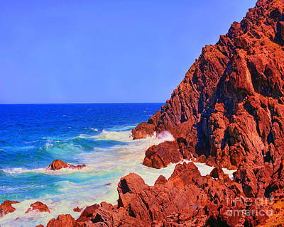 Australia Photograph - Rocky Byron Coast by Chris Smith