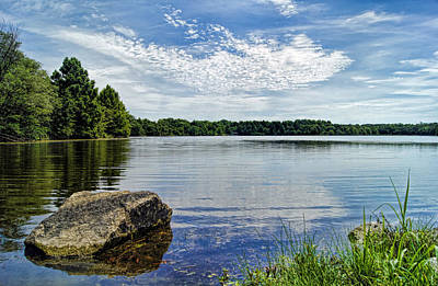 Photograph - Rocky Fork Lake by Cricket Hackmann