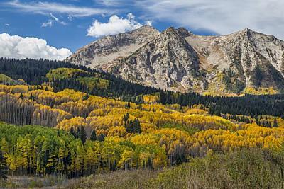 Rocky Mountain Autumn Season Colors Print by James BO  Insogna