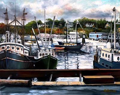 Rocky Neck, Gloucester Original by Eileen Patten Oliver